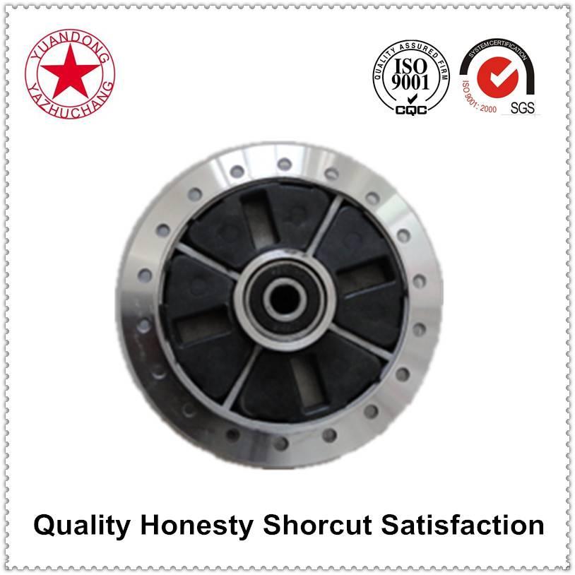 Hot sell high quality aluminium rear drum brake motorcycle wheel model YB100 (CY80