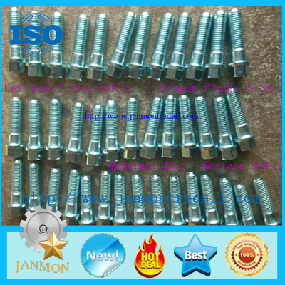 SELL Hexagon flange bolts,Hex head flange bolts,High tensile hex bolts,High strength hex bolts,Bolts