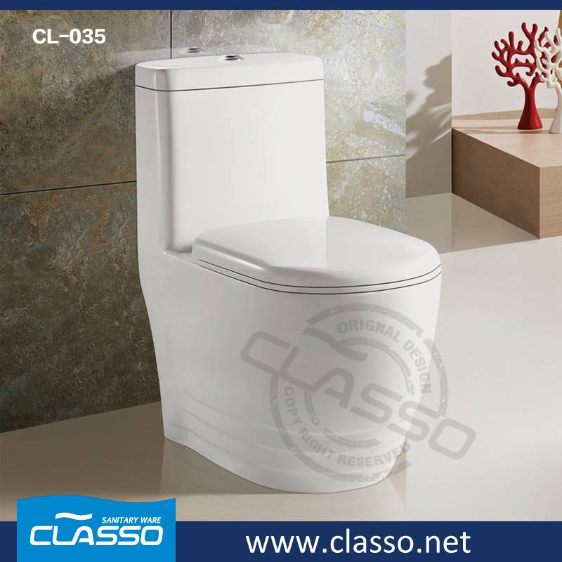 Hot sale New design siphonic one piece toilet WC CL-035
