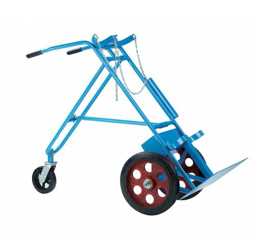 Three wheels double gas cylinder carts RCA-H0C12