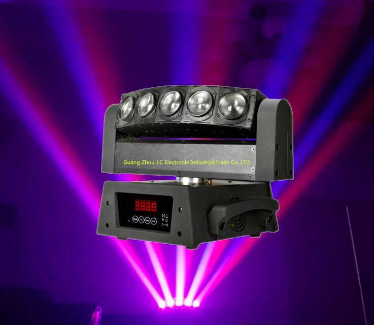 5eyes Led RGBW 4in1 moving head beam light for stage disco dj