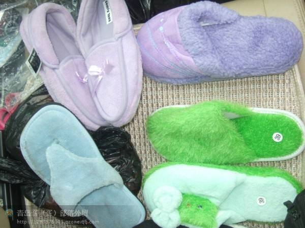 wholesale cotton slippers