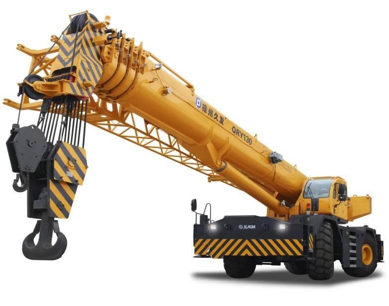 130ton rough terrain crane