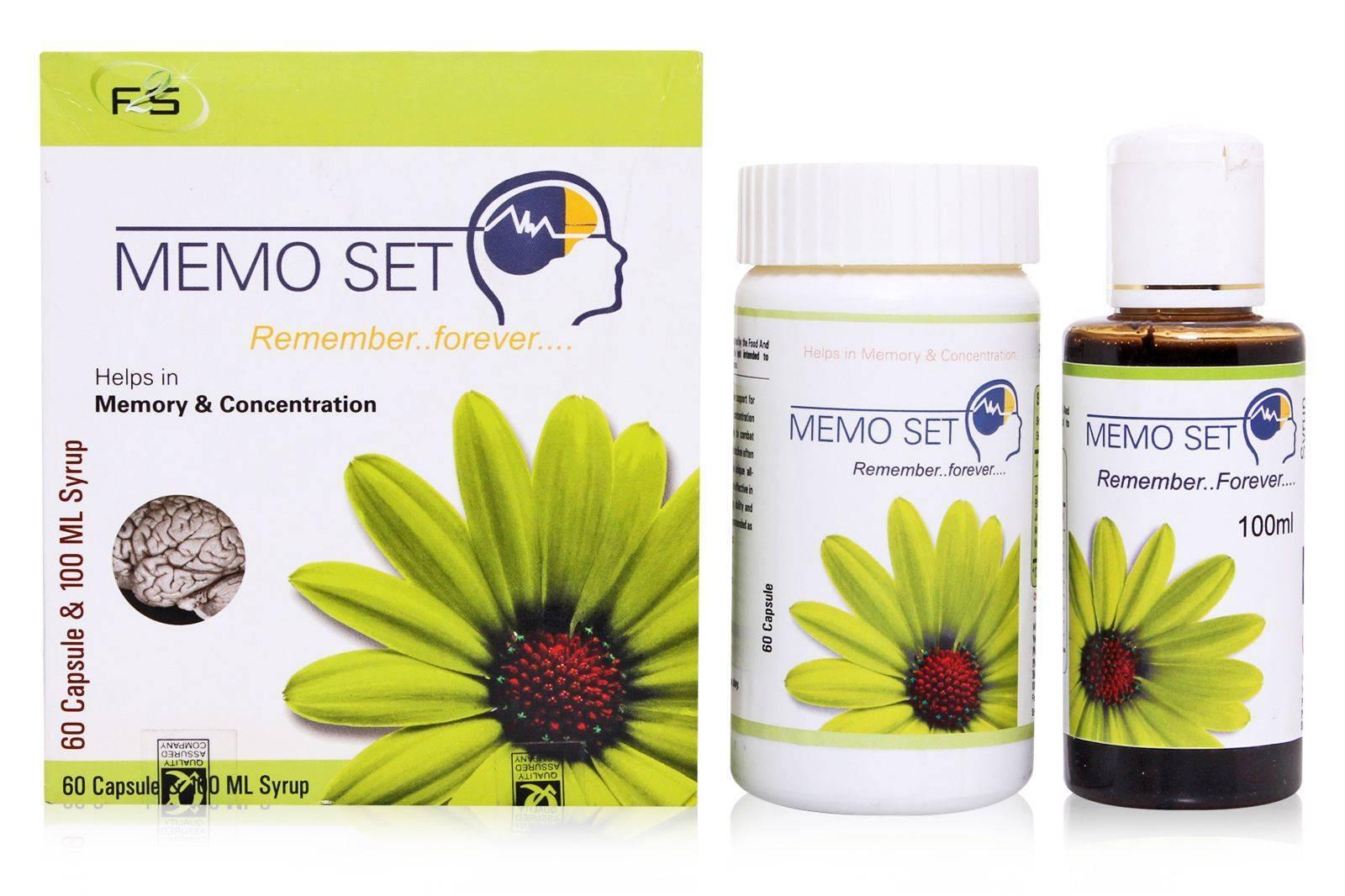 Memoset memory enhancer healthcare Supplement