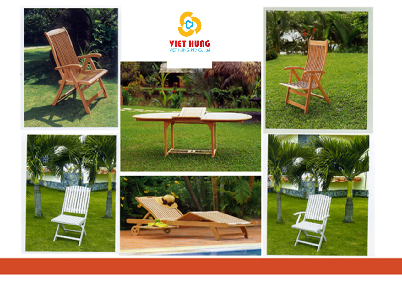 Outdoor furniture export from vietnam viet hung company