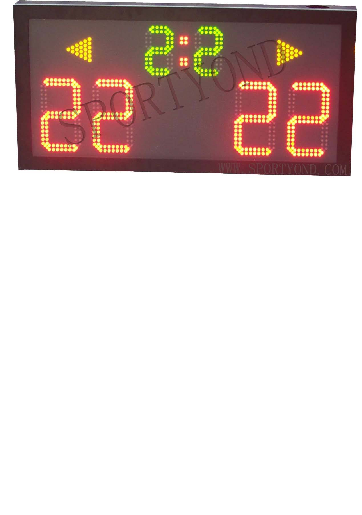 Volleyball electronic scoreboard