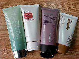 Oval plastic tube for BB cream