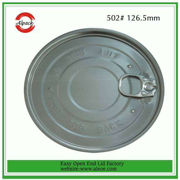 Aluminum Easy Open End for Milk Powder Can