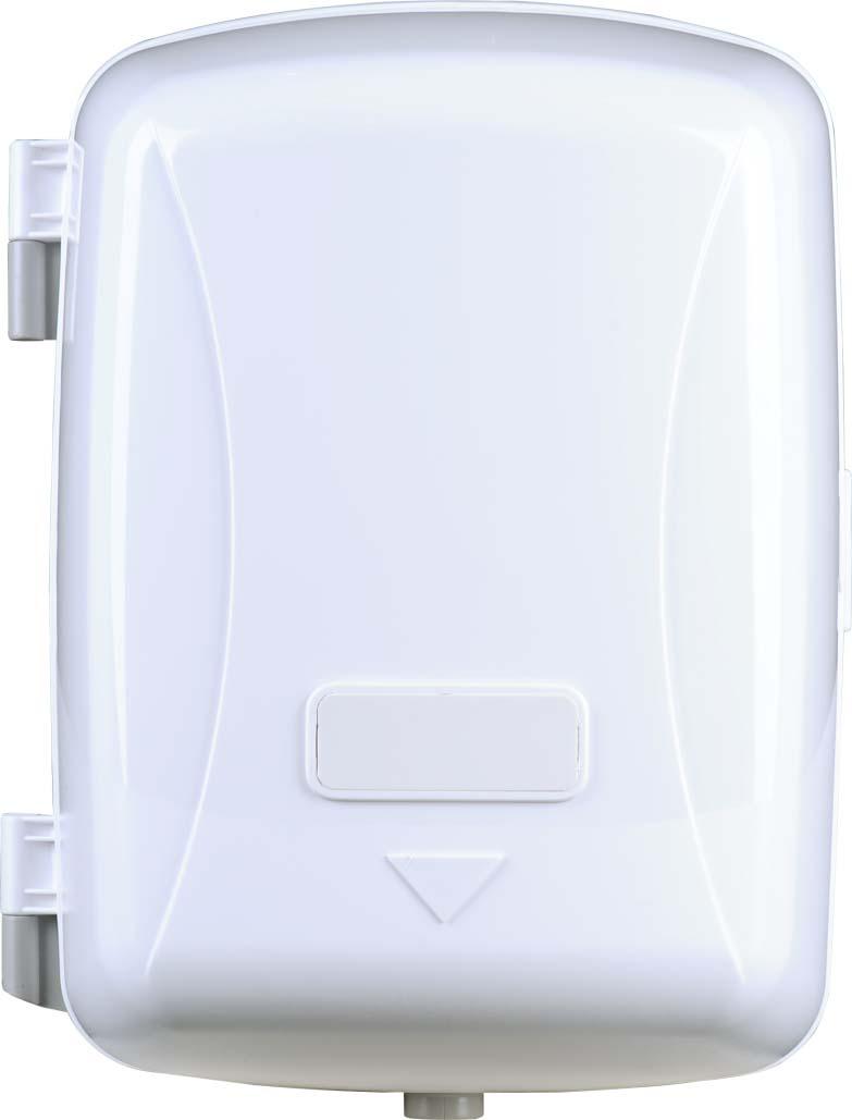 Centre Pull Jumbo Roll Tissue Dispenser White Lockable For Bathroom Hand Wiping