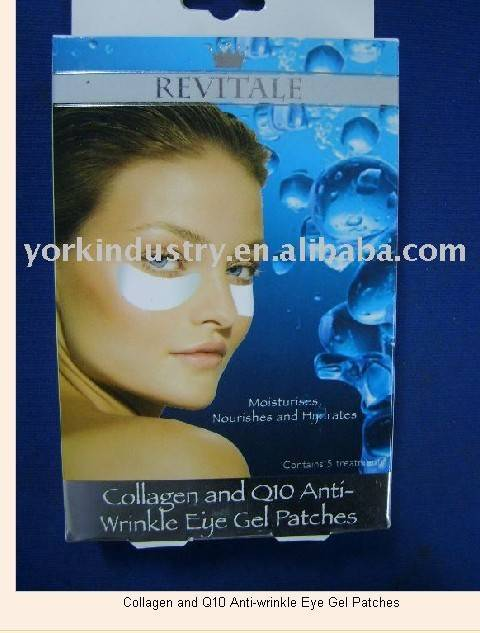 Gollagen and Q10 Anti-wrinkle eye gel patches