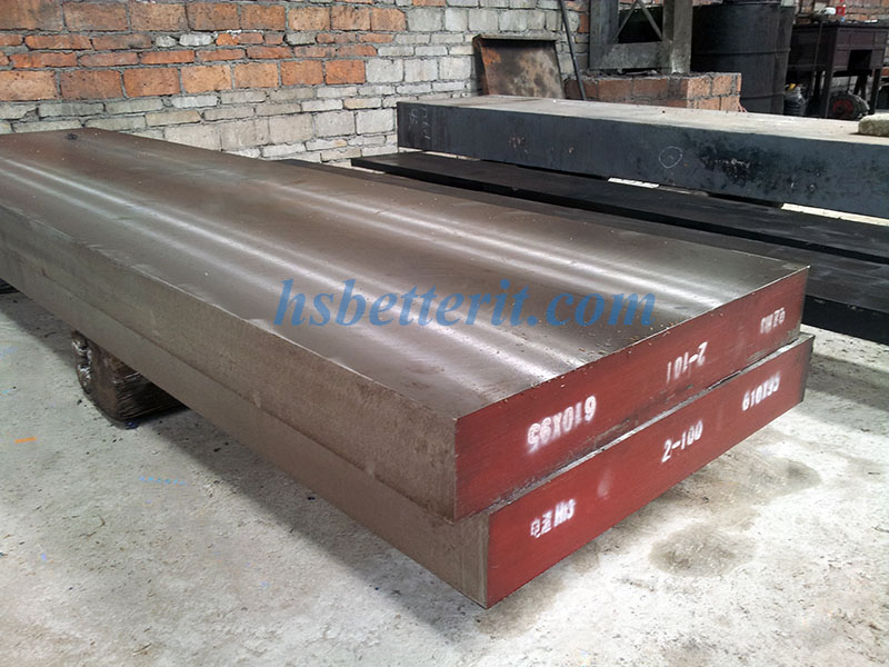 Forging alloy tool steel AISI A2/1.2363