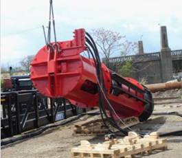 onshore hydraulic piling hammer