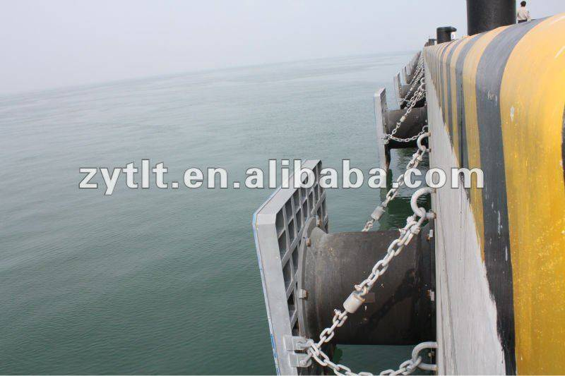 TALENT easy-fixing cell type marine rubber fender with economical price