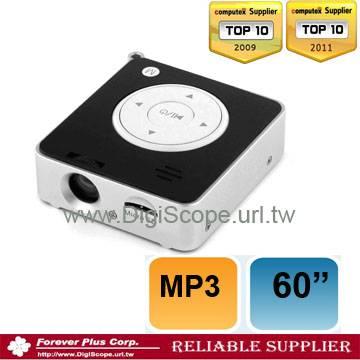 Super mini Multi-media PC projector