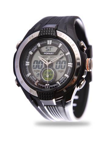 Gift watch with dual-movement