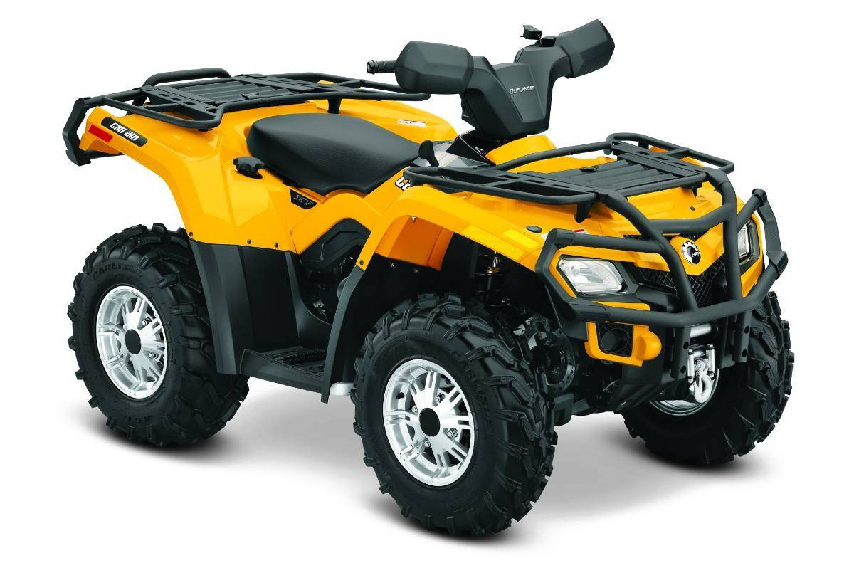2014 Can-Am Outlander 400 XT