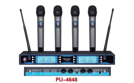 PU-4648 Professional Uhf Wireless Microphone