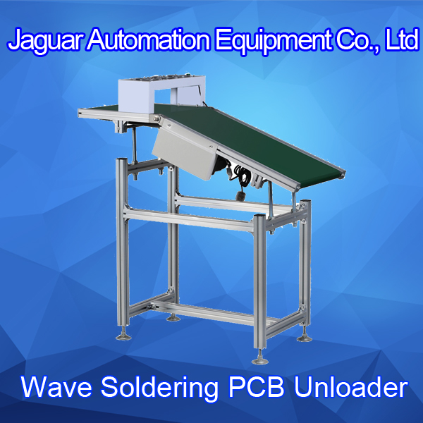 Automatic PCB Conveyor DIP Wave Soldering Unloader