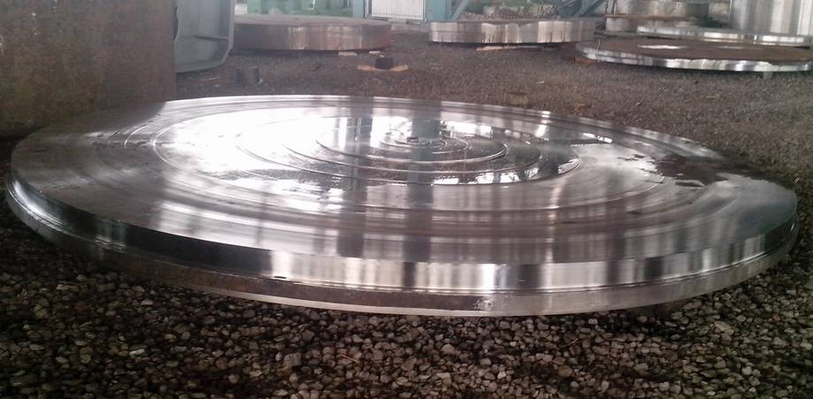 GB/T3077-1999 16Mn Alloy Steel Tube Sheet Disc Forging 5000mm Outside Diameter
