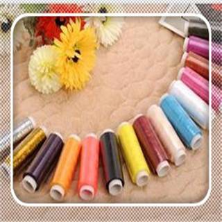 Polyester color sewing thread 200 yard