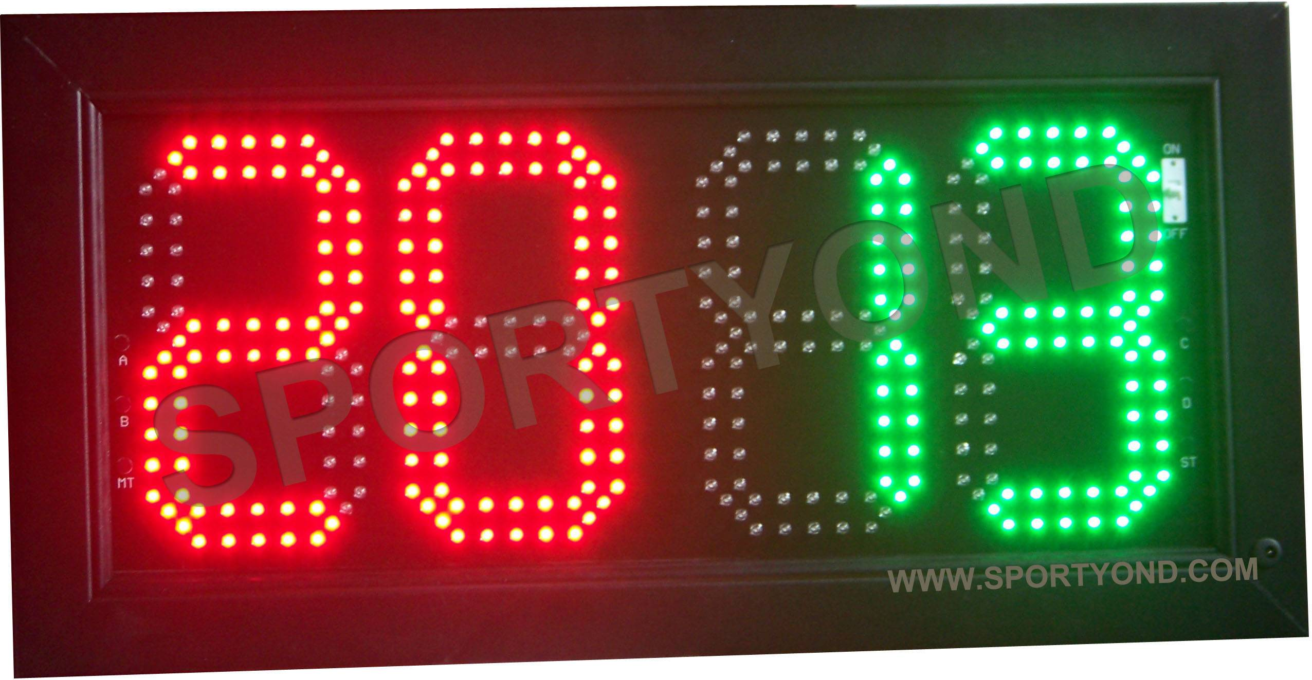 Basketball electronic substitution board