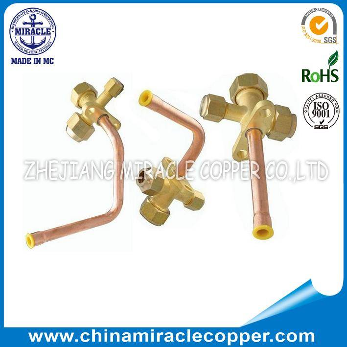 Air-conditioner Valve Service Valve Split Valve