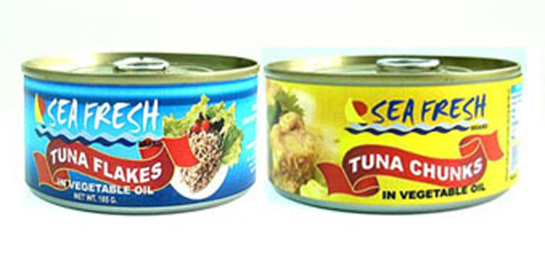 SEA FRESH canned tuna
