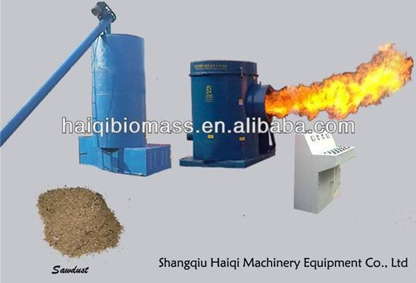 Biomass sawdust burner / Biomass wood sawdust burner connect gas boiler, coal boiler, tobacco drying
