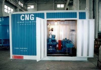 Sell china cng compressor/cng refilling station