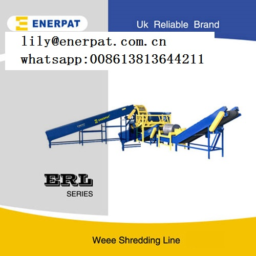99.9% Separation Rate E Waste Recycling Plant and Electonic Waste Shredding Price