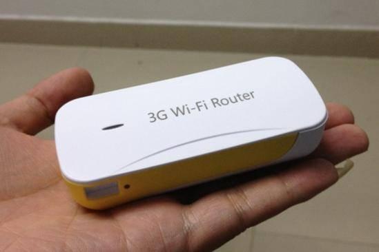 Power bank mini 3G wireless router