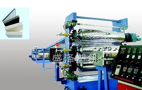 PVC/PP/PS Plate And Foam Plate Extrusion Line