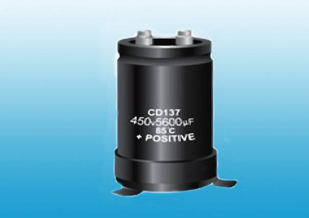 CD137 Aluminum Electrolytic Capacitor