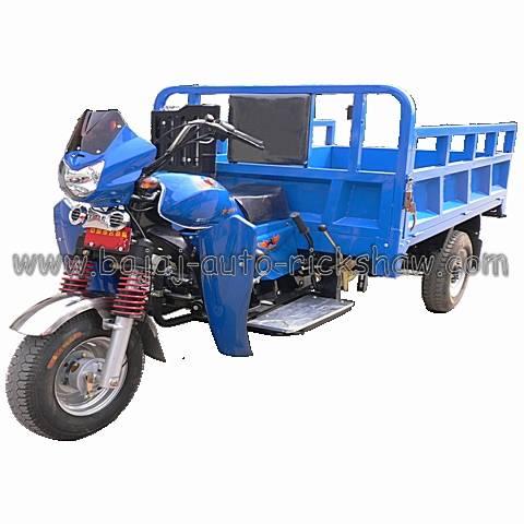 Bajaj Auto Rickshaw air-cooled heavy load cargo truck motor three wheelers BA250ZH-C