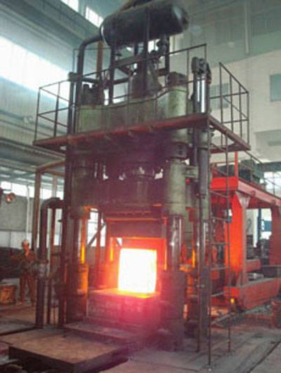 large typ hot forging hydraulic press