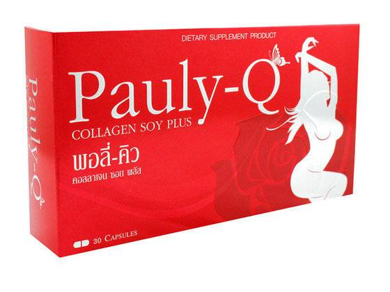 Feminine Breast Enlarge and Beauty Supplement with Herbs Pauly-Q