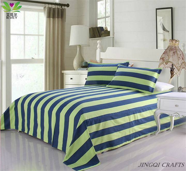 2014 New Style Pure Cotton Breathable Bedding Set Environmental Ventilate Massage Bed Sheet full si