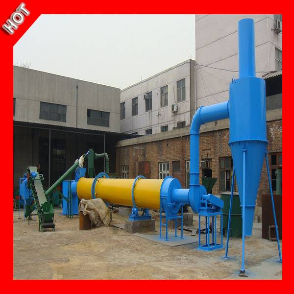 High Capacity and High Effciency Wood Chips Rotary Dryer