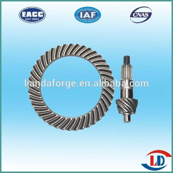 Transmission Axle Crown Wheel Pinion For TOYOTA