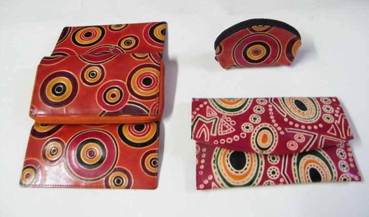 Leather ladies wallet, ladies purse