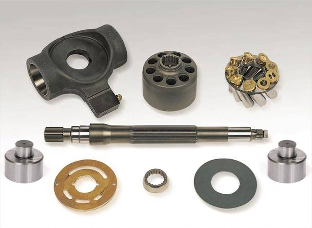 Hydrauic piston pumps