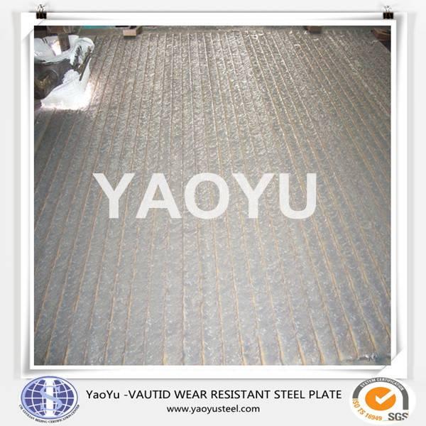 hardfacing wear resistant steel plate