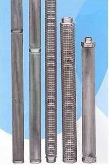 Stianless Filter Peated Filter Element