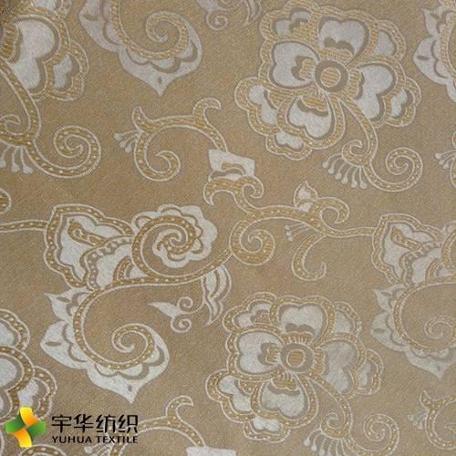 100% Polyester Royal Style Big Jacquard Blackout Curtain Fabric