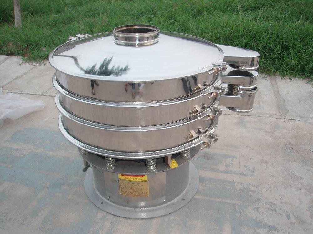 Stainless steel vibro milk powder sieving machine