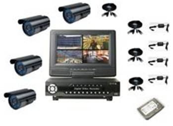 4ch DVR kits SV-8904XTK4W