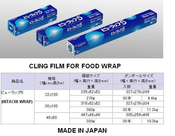 CLING FILM FOR HOUSEHOLDS