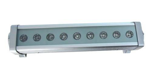 promotion 9w 300mm led wall washer light color changing