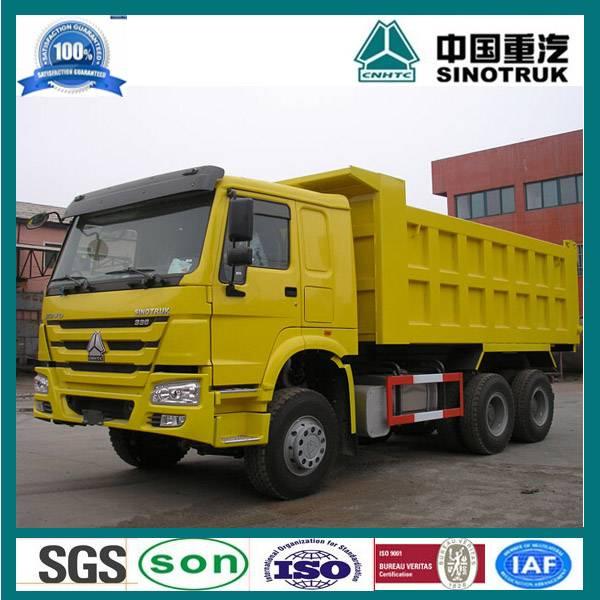 sinotruk howo 6x4 10 wheel dump truck
