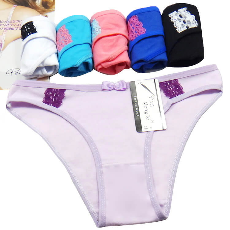 Hot Sale Girls Briefs Breathable Cotton Ladies Panties Mature Women Underwear Sexy Lingerie For Wome